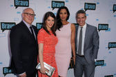 Tom Coloicchio, Gail Simmons, Padma Lakshmi and Andy Cohen — Stockfoto