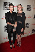 Ruby Rose and Phoebe Dahl — Stock Photo