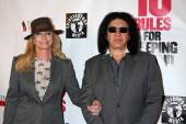 Shannon Tweed, Gene Simmons — Stock Photo