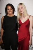 Anne Fulenwider and Elle Fanning — Stock Photo