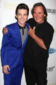 Drake Bell and father Joe Bell — Stockfoto