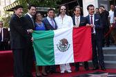 Los Tigres Del Norte, Consuelo Hernandez and Marco Antonio Solis — Stock Photo