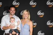 Brandon Barash, Harper Barash, Kirsten Storm — Stock Photo