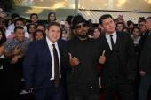 Channing Tatum, Jonah Hill, Ice Cube — Stock Photo