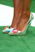 Kat Graham shoes — Stock Photo