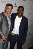 Tommy Davidson, Esai Morales — Stock Photo