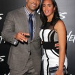 Постер, плакат: Dwayne Johnson and Simone Alexandra Johnson