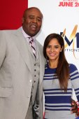 Chi McBride and Julissa McBride — Stock Photo