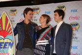 Shailene Woodley, Ansel Elgort, Nat Wolff — Stock Photo