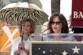 Jane Fonda and Sally Field — Stock Photo