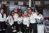 Vanessa Marcil, Tricia Helfer, Carmelita Jeter, Lisa Stanley and Adrien Brody — Stock Photo