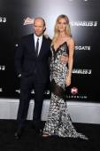 Rosie Huntington-Whiteley, Jason Statham — Stock Photo