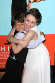 Pierce Gagnon and Joey King — Stock Photo