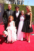 Kuma, Regan Burns, Francesca Capaldi, Blake Michael, G. Hannelius and Beth Littleford — Stock Photo
