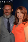 Mark Burnett and Roma Downey — Stock Photo