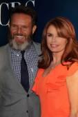 Mark Burnett and Roma Downey — Stock Photo