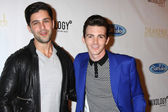 Josh Peck and Drake Bell — Stock Photo