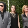 Постер, плакат: Gene Simmons Sophie Simmons and Shannon Tweed