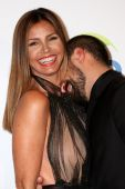 Charisma Carpenter and Michael T. Rossi — Stock Photo