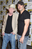 Frank Miller and Robert Rodriguez — Stock Photo