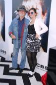 Russ Tamblyn and Amber Tamblyn — Stock Photo