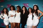 Fifth Harmony and Demi Lovato — Stock Photo