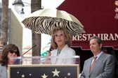 Sally Field, Jane Fonda and Beau Bridges — Stock Photo