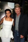 Ed Harris and Eva Longoria — Stock Photo