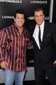 Chuck Zito, Robert Davi — Stock Photo