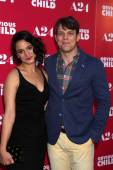 Jenny Slate and Jake Lacy — Stock Photo