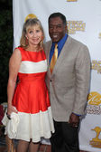 Linda Hudson and Ernie Hudson — Stock Photo