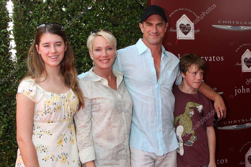 Christopher Meloni And Family 2019