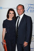 Alyson Hannigan and Tom Papa — Stock Photo
