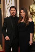 Christian Bale, Sibi Blazic — Stock Photo