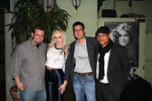 Brent Baisley, Lexi Belle, Gregory Hatanaka and Clinton H.Wallace — Stock Photo