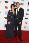 Katey Sagal, Charlie Hunnam — Stock Photo