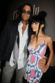 Matt Hannon and Bai Ling — Stock Photo