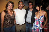 Natalie, Cranston Komuro, Gregory Hatanaka and Bai Ling — Stock Photo