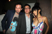 Rich Mallery, Gregory Hatanaka and Bai Ling — Stock Photo