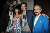 Matt Hannon, Bai Ling, Rich Mallery and Peter Palian — Stock Photo