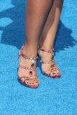 Juliana Harkavy shoes — Stock Photo