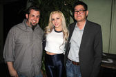 Brent Baisley, Lexi Belle and Gregory Hatanaka — Stock Photo