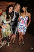 Alice Aoki, Christy Oldham and Bai Ling — Stock Photo