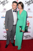 Jack Osbourne and Lisa Stelly — Stock Photo