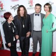 Постер, плакат: Ozzy Osbourne Sharon Osbourne Jack Osbourne and Lisa Stelly