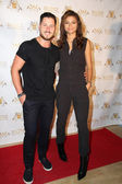 Val Chmerkovskiy and Zendaya Colema — Stock Photo