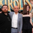 Постер, плакат: Ben Kingsley Elle Fanning and Nick Frost