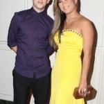 Kevin McHale and Jenna Ushkowitz — Stock Photo #53878099