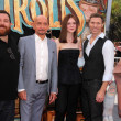Постер, плакат: Ben Kingsley Elle Fanning Nick Frost and Travis Knigh