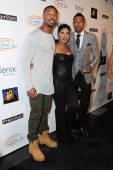 Michael B. Jordan, Toni Braxton and Nick Cannon — Stock Photo
